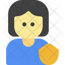 Protection Female People Icon