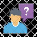 Interview Question Recruitment Icon