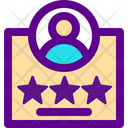 User Rate Icon