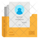 Data Personal Detail Icon