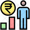 User Rupee Earnings User Rupee Icon