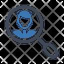 Search User Businessman Icon