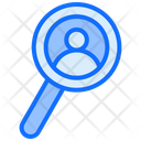 User Search Find Person Search Customer Icon