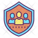 Iuser Security User Security Shield Icon