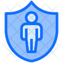 Shield User Secure Icon