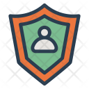 User Shield Security Icon