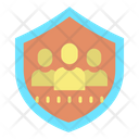 User Security Shield Shield User Secure User Icon