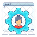 User Setting User Configuration User Management Icon