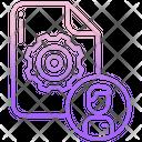 User Setting Person Setting Profile Setting Icon