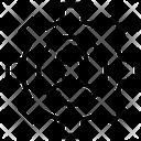 Cogwheel Avatar Setting Icon