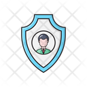 User Shield Protection Icon