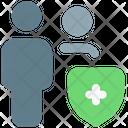 User Shield User Protection Shield Icon