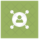 User Skill User Connection Icon