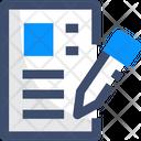 User Story Edit Create Icon