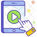 User Interface Video Streaming Mobile Video Icon