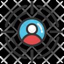 Customer Target User Icon
