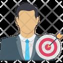 Focus Goal Target Icon
