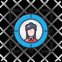 Target Focus Hiring Icon