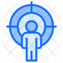 User Target Person Stand Icon