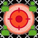 User Target Employee Target Target Icon