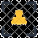 User Target User Focus Person Target Icon