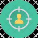 Person Target Focus Icon