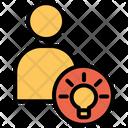 User Profile Creaive Idea Icon