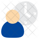 User Employee Time Icon