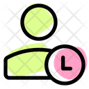 User Time User History Timing Icon