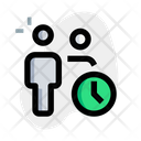 User Time Employee Time Working Time Icon