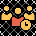 User Timing Profile Timing Male Profile Icon