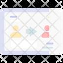 User Transfer Sharing User Icon