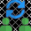 User Transfer Transfer User Exchange Icon