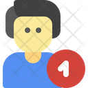 Upload Male People Icon