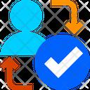 User Verify User Verification User Authentication Icon