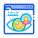 User View Eye Signature Icon