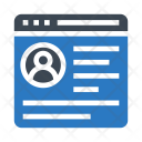 User Webpage Icon