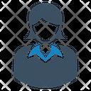 User Woman Account Profile Icon