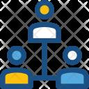 Users Team Hierarchy Icon