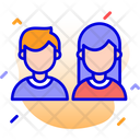 Online User Users Profile Icon