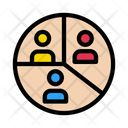 Users Connect Map Icon