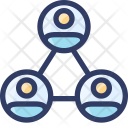 Users Community Hierachy Icon