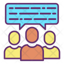 Users Chat Icon