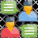 Communication Conversation Dialogue Icon