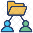 Employee Folder Information Folder Folder Network Icon