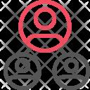 Users hierarchy Icon