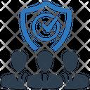 Shield Team Guard Icon