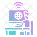 Computer Play Internet Icon