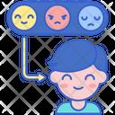 Using Emotions Icon