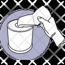 Using Toilet Paper Icon